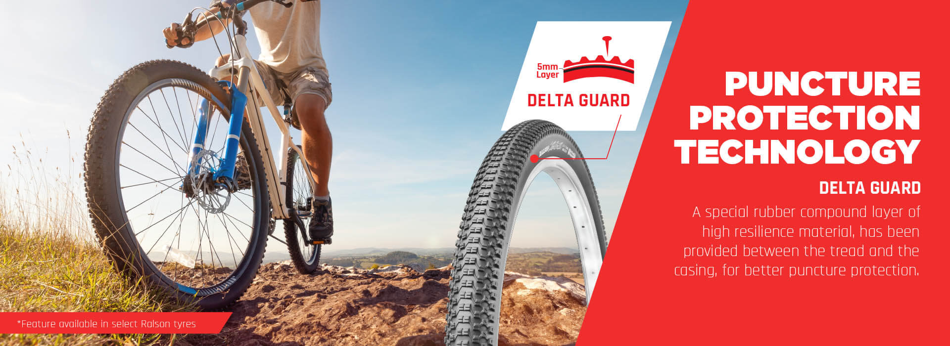 Best bicycle tyre manufacturing company in India-Ralson Tyres